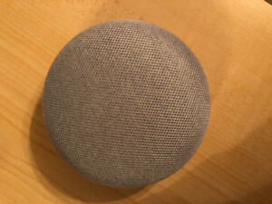 Google Home Mini, comes with chord