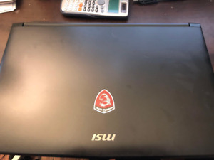 MSI GL62 gaming labtop for sale