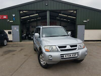 2004 Mitsubishi Shogun 3.2DI-D AUTOMATIC Elegance PX WELCOME 7 SEATS