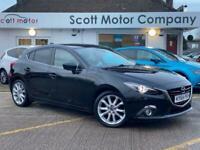 2014 Mazda 3 2.0 SPORT NAV AUTOMATIC 5d 118 BHP Hatchback Petrol Automatic