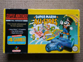 Super Nintendo Entertainment System(SNES) console