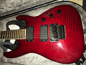 Jackson dinky red cherry wood