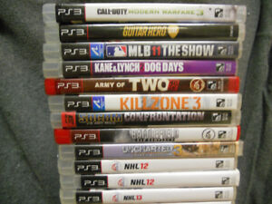 PS3 games. 5 for $20