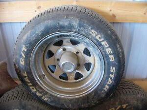 """selling my 15"""" mag wheels off a dodge pickup"""