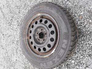 205 65 15 tire on rim