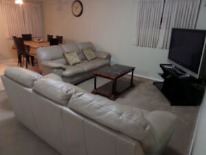 Spacious fully furnished 3BR suite at Timberlea, all inclusive.