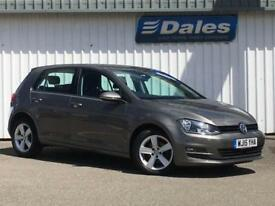 2015 Volkswagen Golf 1.6 TDI 105 Match 5dr 5 door Hatchback