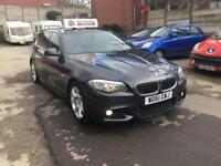 BMW 5 Series 520D Touring M-Sport Auto DIESEL AUTO 11/61 FSH FULLY LOADED SPEC