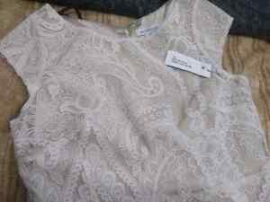 Beige colour adult size 12 brand new lace dress for $20. Windsor Region Ontario image 2