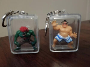 Official Street Fighter Keychains