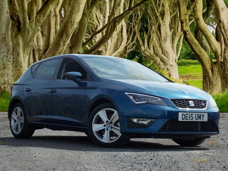 seat leon 2 0 tdi cr fr tech pack 5dr start stop blue 2015 in castlereagh belfast gumtree. Black Bedroom Furniture Sets. Home Design Ideas