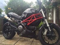 DUCATI MONSTER 2014 796 ABS & DATATOOL TRACKING DEVICE!