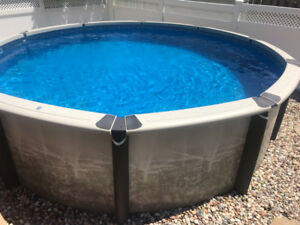 """15"""" above ground Pool  with pump and filter For sale 2800 O.B.O"""