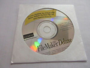 FileMaker Pro Deluxe Install Disk