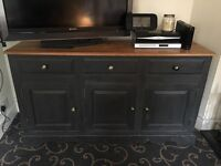 Beautiful farrow and ball shabby chic dresser or sideboard