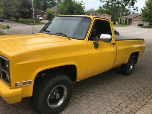 1981 GMC K1500 4 X 4