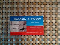 Professional licenced masonary and stucco contracters