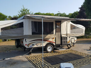 2015 Epic Viking 2308 Pop Up Tent Trailer