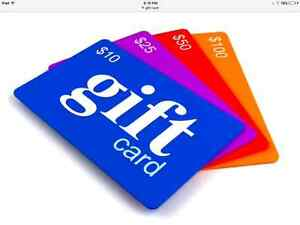 Gift cards wanted will pay up to 75%