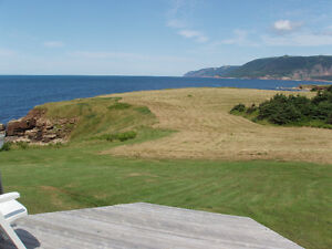 CABOT TRAIL, OCEAN SIDE, 7 Acres, Private BEACH