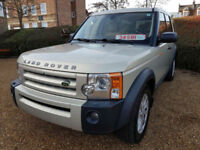 LHD 2008 Land Rover Discovery 3, 2.7 TDV6, 7 Seater, Automatic LEFT HAND DRIVE