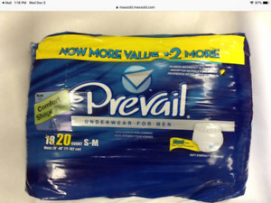 Prevail Extra Absorbency Incontinence Underwear, Mens