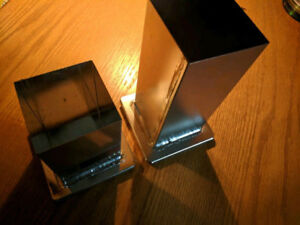 2 (Two) Square / Cube Candle Making Molds