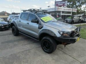 2016 Ford Ranger PX MkII XL 3.2 (4x4) Silver 6 Speed Automatic Crew Cab Utility