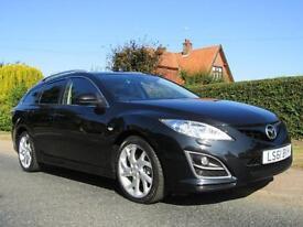 2011 Mazda 6 2.2d SPORT 5DR TURBO DIESEL ESTATE * 64,000 MILES * HIGH SPECIFI...