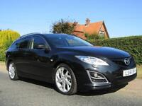 2011 Mazda 6 2.2d SPORT 5DR TURBO DIESEL ESTATE * 64,000 MILES * HIGH SPECIFI...