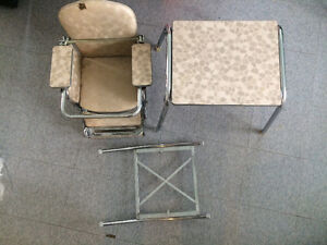 1950's-1960's high chair and table Cambridge Kitchener Area image 1