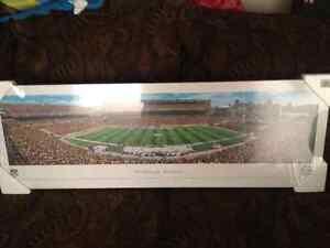 "Brand New Panoramic 40"" x 13.5"" wood plaque photo of The Pittsbu"