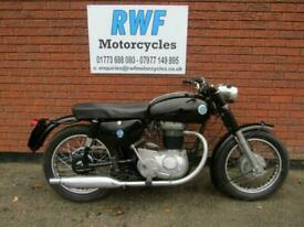 AJS 350, 1967, EXCELLENT ORIGINAL COND, ONLY 7,381 MILES, CLASSIC