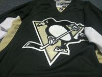 Pittsburgh Penguins home black jersey