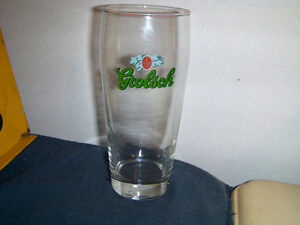 "GROLSCH DUTCH BREWERY TALL GLASS-6 1/2""-VINTAGE COLLECTIBLE!"