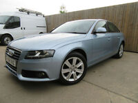AUDI A4 2.0 TDI SE AUTO MULTITRONIC 2008 (58) DIESEL FSH ONLY 67,000 MILES VGC