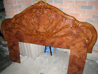 Beautiful Italian Queen/Double Headboard, like new condition