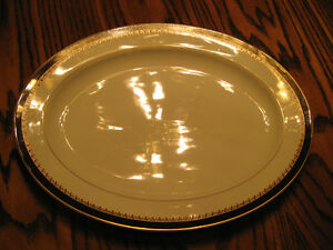 "Ralph Lauren ""Hastings Chocolate"" Oval Platter - NEW - $19"