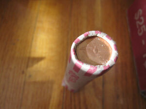 "Canada 1867-1967 Penny Roll---One Cent Coins ""Rock Dove"""