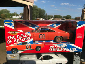 Dodge Charger 1969 General Lee version Dirty sale diecast 1/18