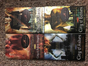The Mortal Instruments book series by Cassandra Clare