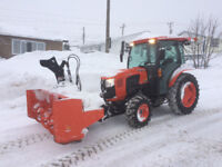 Snow clearing by First Choice Snow clearing. Phone 709 733-2222