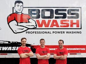BossWash - Kelowna Pressure Washing