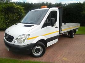 2013/63 Mercedes-Benz Sprinter 313 2.1 CDI LWB 13FT 6 DROPSIDE