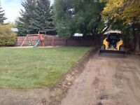 Desirable Landscaping and skidsteer services