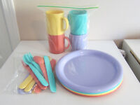 Colourful Plastic Dishes