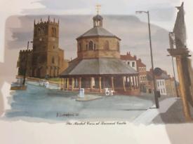 Prints x 4 Barnard Castle