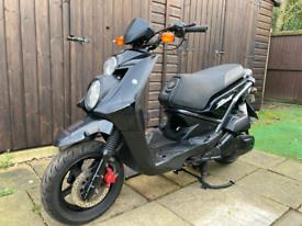 2011 Yamaha bws 125cc scooter moped full mot