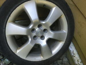 17 inch silver rims for Toyota Matrix with nokian tires