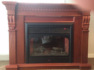 Selling your home or renting it - add value - electric fireplace
